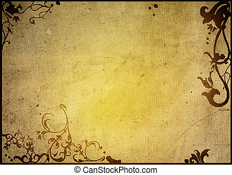 backgrounds frame - floral style textures and backgrounds ...