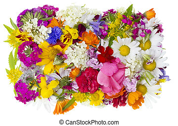 Floral summer concept