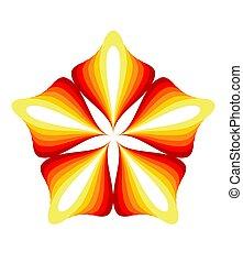 floral tervezés, elem