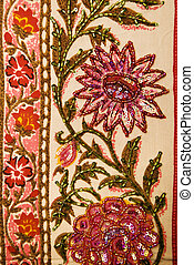 Floral textile.