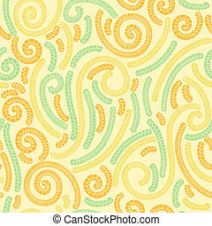 Floral textile wallpaper seamless pattern