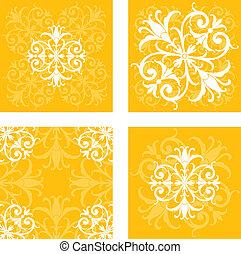 Floral Tile Patterns