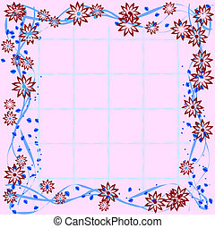 Floral tile