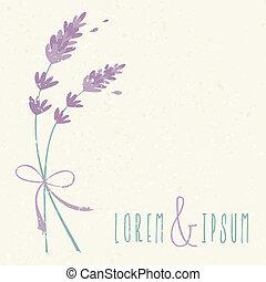 floral, trouwfeest, ontwerp, uitnodiging