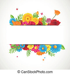 Floral Vector Background