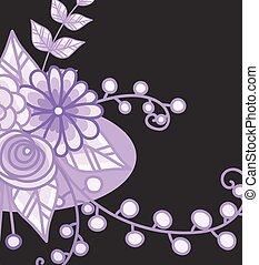 Floral Vector Design Background