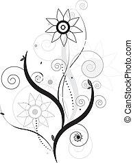 Floral vector design - vector floral design