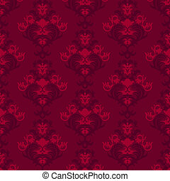 Floral vintage background, pattern