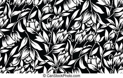 Floral wallpaper-background
