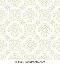 floral wallpaper beige tile - Beige seamless wallpaper...
