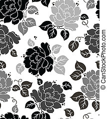 floral-wallpaper, seamless