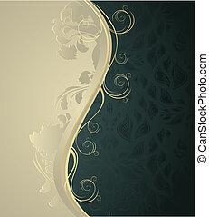 Floral wave