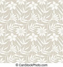Floral wedding card background