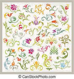floreale 1, ornamenti