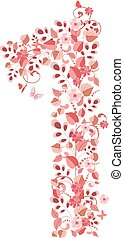 floreale 1, romantico, numero