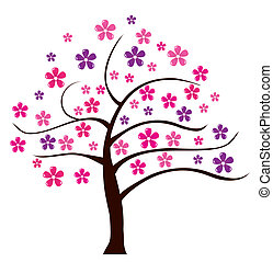 floreale, albero