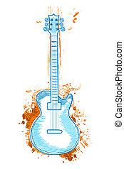 floreale, chitarra