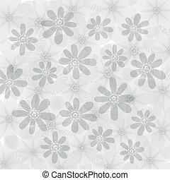 floreale, fondo, fiori, modello