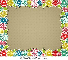 floreale, frame.