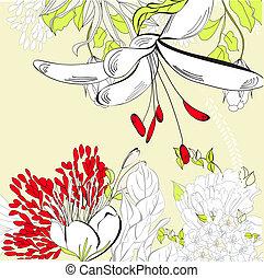 floreale, primavera, scheda