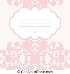 floreale, romantico, scheda