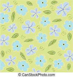 floreale, scheda, fondo