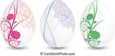 floreale, uova