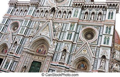 florença, itália, catedral, florença