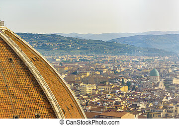 Florence Aerial Cityscape