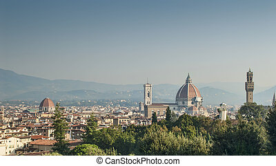 Florence and the Duomo from Boboli Garden - Florence City...