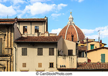 Florence City Roof View