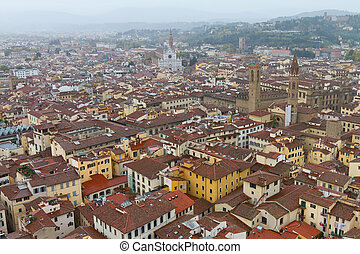 Florence Cityscape, Italy