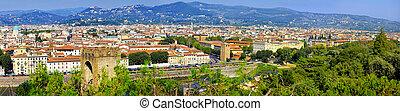Florence east panorama