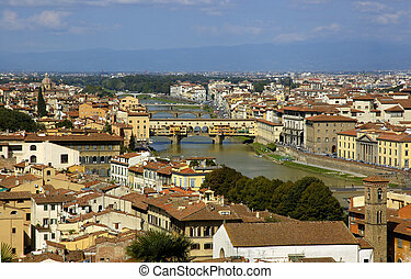 Florence, Italy - The Bridges Of Florence
