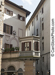 Florence old residential building