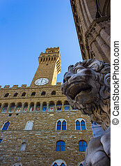 Florence, palace, old