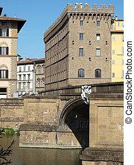 Florence - Palace Spini-Ferroni by the Santa Trinita bridge