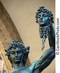 Florence - Perseus holding the head of Medusa by Cellini....
