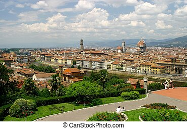 Florence - city view of Florence