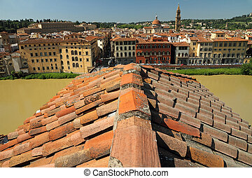 Florence - roof top view