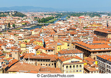 Florence. Top view.