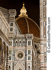florencia, italia, catedral, florencia