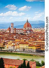 florencia, italia, panorama