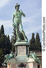 florencia, michelangelo, italia, monumento