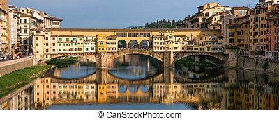 florencia, -, ponte vecchio