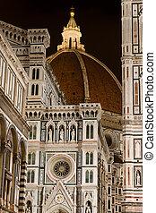 florencja, włochy, katedra, florencja