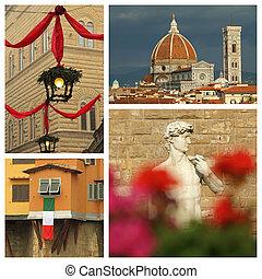 florentin,  Florence,  impression