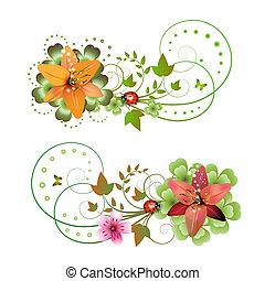 flores, arranjo