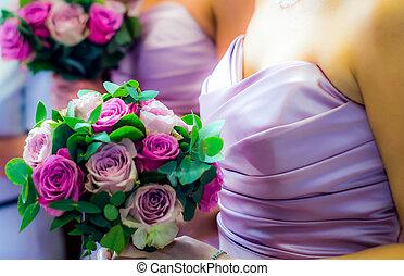 flores, boda