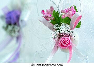 flores, casório